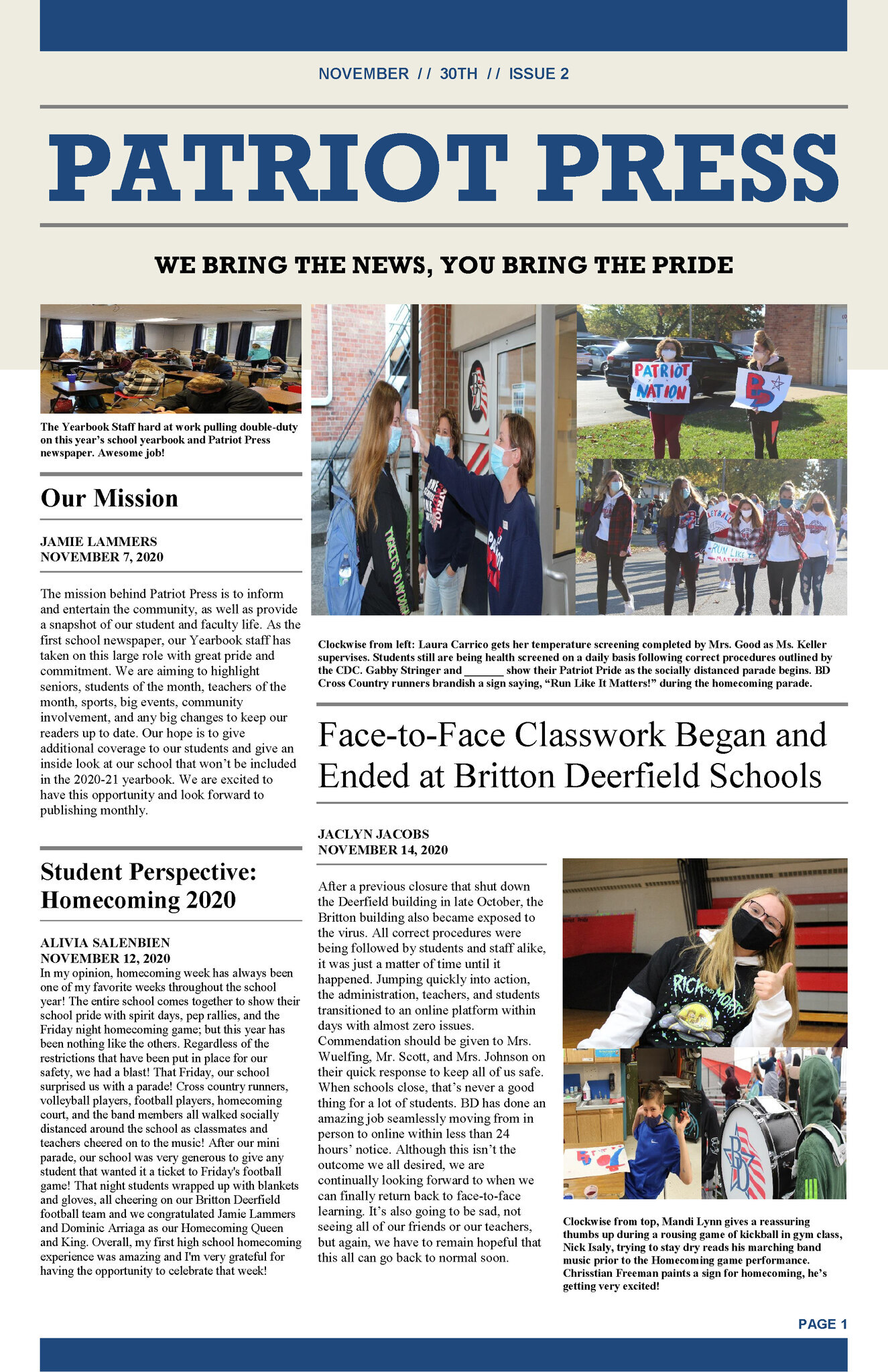 Patriot Press Edition 2
